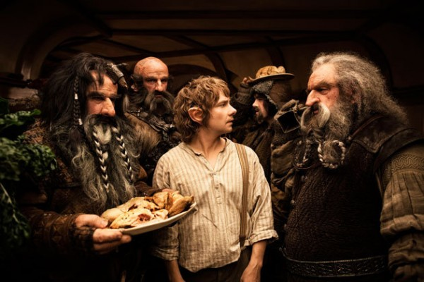 bilbo-dwarves-food