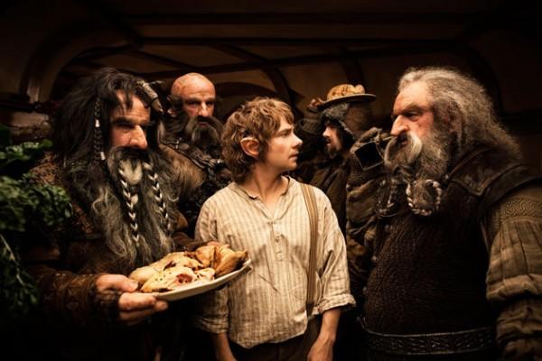 bilbo-dwarves-food