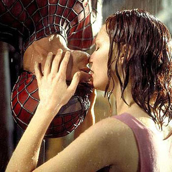 upsidedown-spidermankiss
