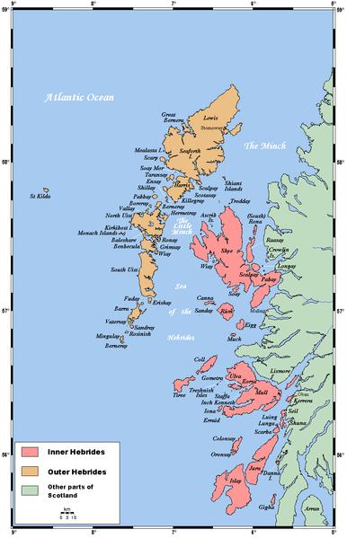 Hebrides-map