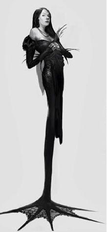 morticia-slender