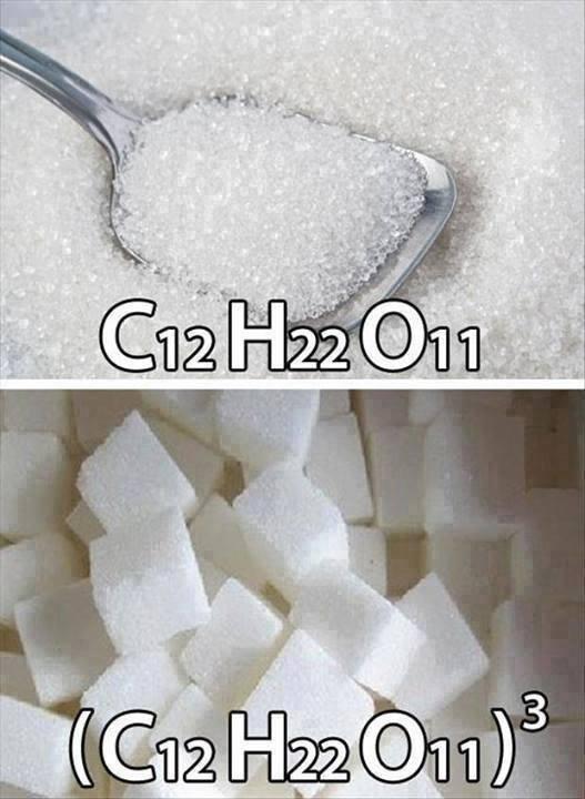 sugar-cubed